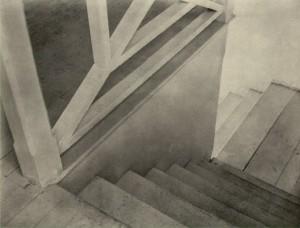 "Tina Modotti, ""Staircase,"" (1924-1926)."