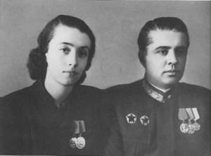 Nexhmije and Enver Hoxha