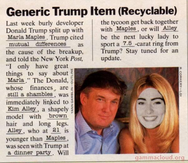 generic trump